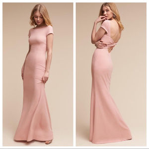 NWOT BHLDN Katie May Madison Dress blush pink